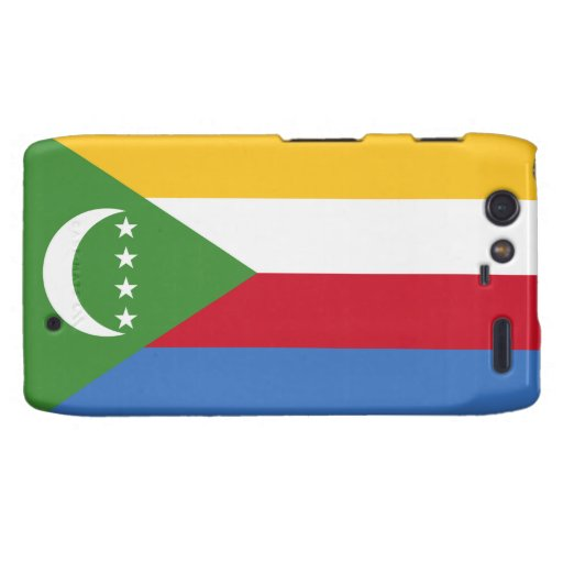 Comoros Flag Droid RAZR Cover