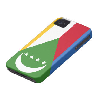 Comoros Flag iPhone 4 Covers