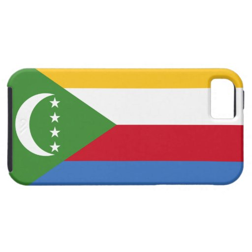 Comoros Flag iPhone 5 Cover