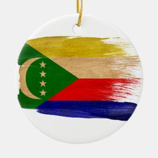 Comoros Flag Ornaments