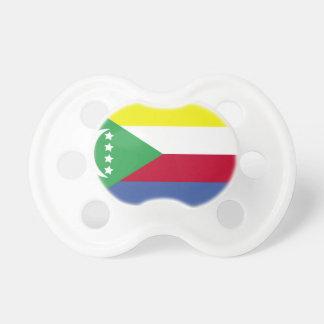 Comoros Flag Pacifier