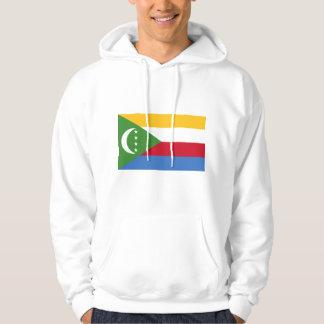 Comoros flag KM Hoodie