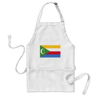 Comoros flag KM Standard Apron