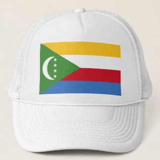 Comoros flag KM Trucker Hat