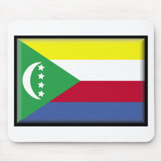 Comoros Flag Mouse Pads