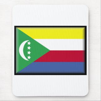 Comoros Flag Mouse Mat