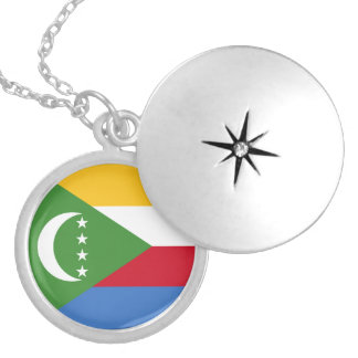 Comoros Flag Necklace