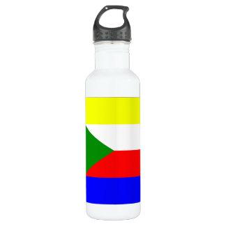 Comoros Flag 24oz Water Bottle