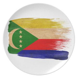 Comoros Flag Plates