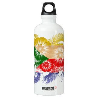 Comoros Flag SIGG Traveller 0.6L Water Bottle