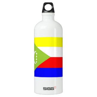 Comoros Flag SIGG Traveller 1.0L Water Bottle