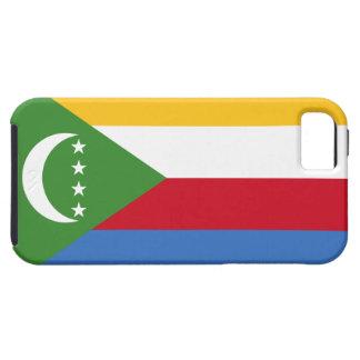 Comoros Flag Tough iPhone 5 Case