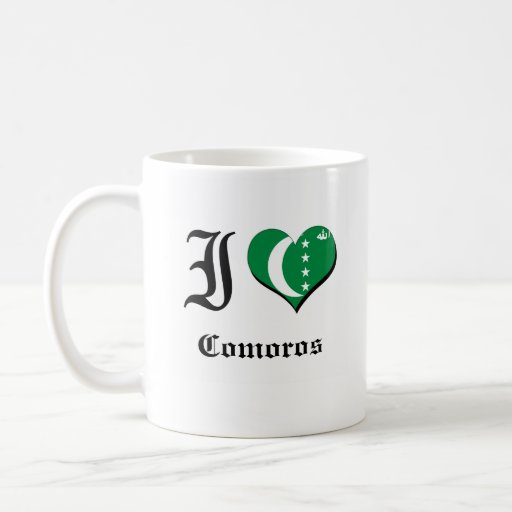 Comoros Coffee Mugs