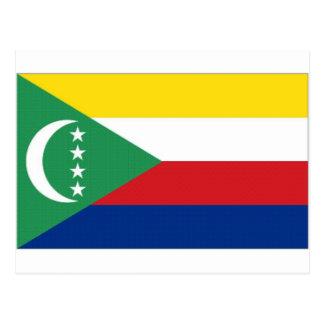 Comoros National Flag Postcard
