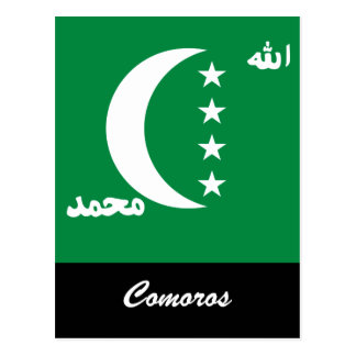 Comoros Post Card