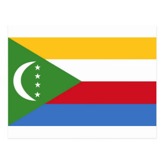 Comoros Postcard