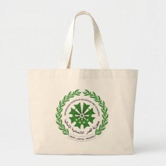 comoros seal jumbo tote bag