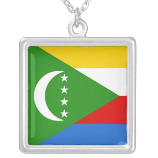 COMOROS SILVER PLATED NECKLACE