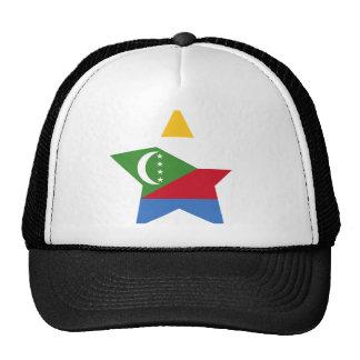 Comoros Star Mesh Hats