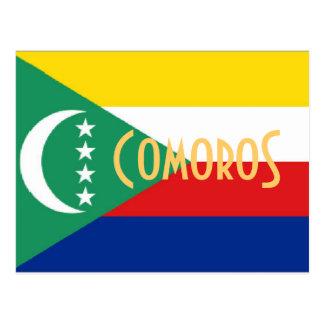 Comoros The Comoro Islands postcard
