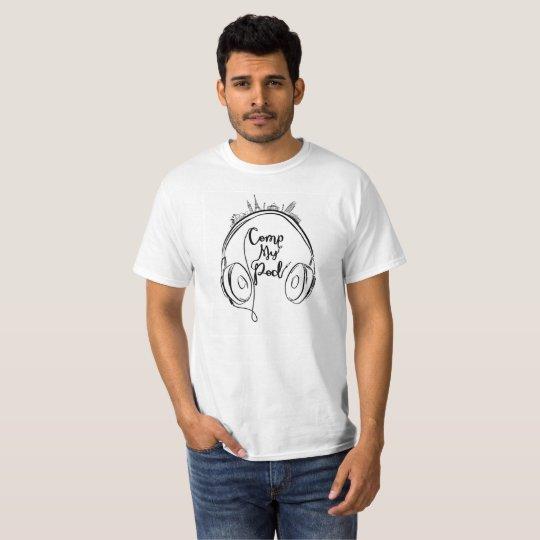 Comp My Pod T-Shirt Black and White