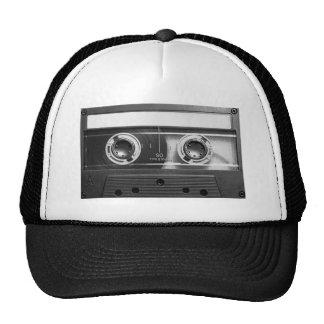 Compact Cassette Tape Mesh Hats