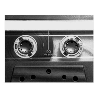 Compact Cassette Tape Post Card
