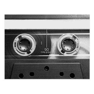 Compact Cassette Tape Postcard