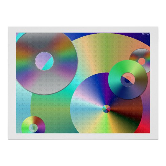 Compact Discs Poster