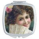 Compact Mirror - 1920s Girl