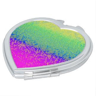 Compact Mirror Glitter Star Dust