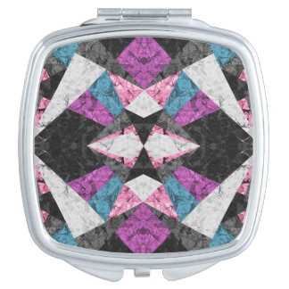 Compact Mirror Marble Geometric Background G438