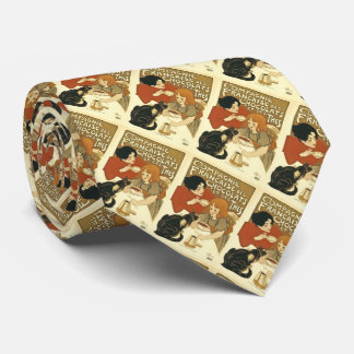 Compagnie Chocalats Vintage Advertisement French Tie
