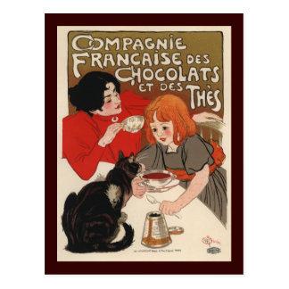 Compagnie Francaise Des Chocolats Postcard