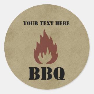 Company BBQ Stickers