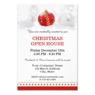 Christmas Open House Invitations & Announcements | Zazzle.co.uk