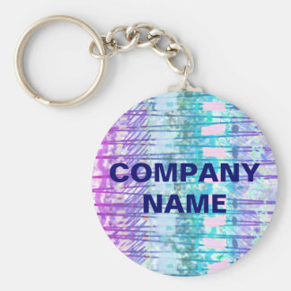 Company Keychains - Blues Lines