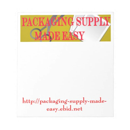 Company Logo Business Notepad Template