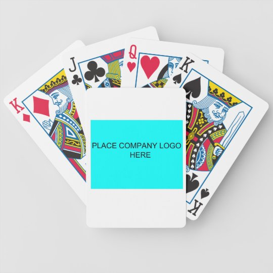 Company Logo Playing Cards