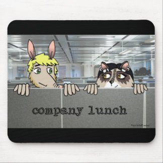 Company Lunch Mousepad - Arg & Raq