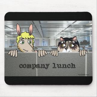 Company Lunch Mousepad - Arg & Raq
