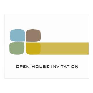 Company Open House Invitation Postcard