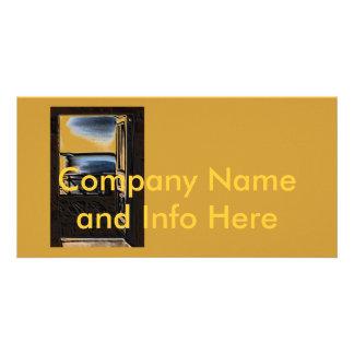 Company Profile Card Photo Greeting Card
