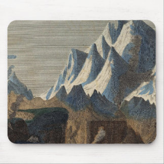 Comparative Height of the Principal Mountains Mouse Mat