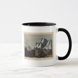 Comparative Height of the Principal Mountains Mug