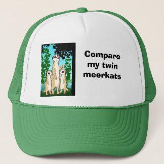Compare my twin Meerkats Trucker Hat