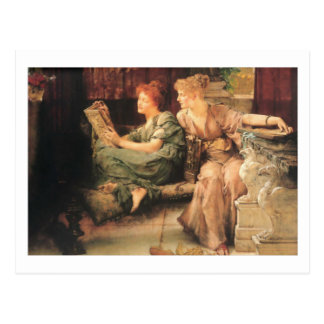 Comparisons by Lawrence Alma-Tadema Postcard