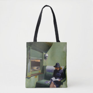 Compartment C, Car 293 by Edward Hopper Tote Bag