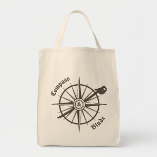 Compass and Blade Grocery Tote