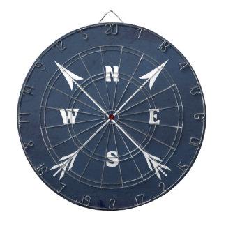 Compass arrows dartboard
